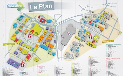 Cr ation graphique print et webdesign - Zone commerciale cormontreuil ...
